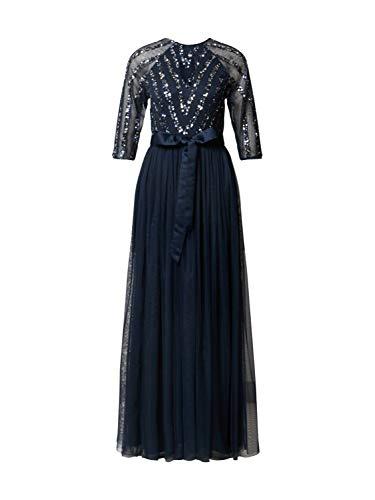 Maya Deluxe Damen Abendkleid Navy 10 (38)