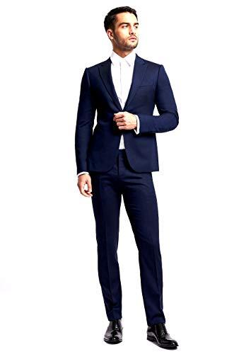 E.ARMANI Vestido de hombre de lana fresca
