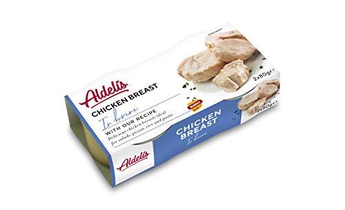 Aldelis Pechuga de Pollo al Natural Healthy Canned Chicken Breast