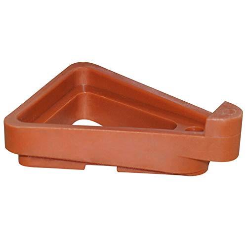 SANGDA Plant Pot Toes, 12 Stks Plastic Plant Pot Lifter Driehoek Bloem Pot Rack Houder Pot Toes Onzichtbare Bloemenpot Onderste Beugels voor Indoor en Outdoor Tuinieren Plant Container