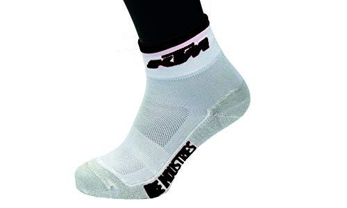 KTM 1 Paar BIKE Qualitäts Socken - Factory Line -, Sockengröße:40-43