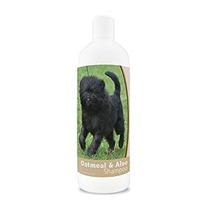 Healthy Breeds Oatmeal & Aloe Dog Shampoo – Over 200 Breeds – Mild & Gentle for Sensitive Skin – Hypoallergenic & pH Balanced – 16 oz