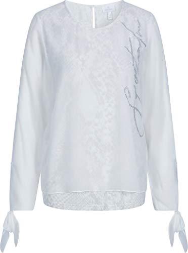 Sportalm Damen Bluse Größe 38 EU Weiß (weiß)