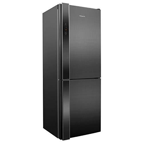 HOTPOINT XUL8T2ZXOV Day 1 338L 189x60cm Freestanding Fridge Freezer - Stainless Steel