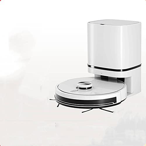 Aspiradora para suelos Robot Aspiradora Laser Navegación Automática Recuperación del Polvo Sweeper Moqueta para la Casa Robot Aspiradora Antigoteo Aspiradora