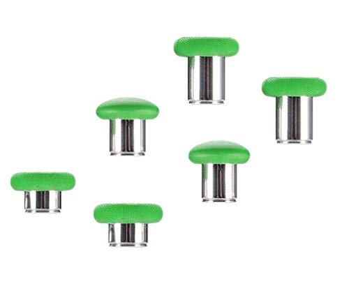E-MODS GAMING Thumbsticks Grips Replacement for Xbox One Elite Controller(Model 1697) - Green