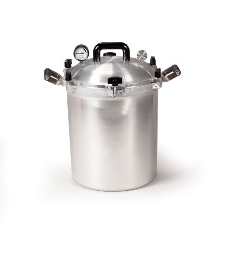 All American 930 Canner Pressure Cooker, 30 qt, Silver