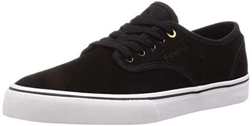 Emerica Men's Wino Standard Skate Shoe, Black/White/Gold, 12