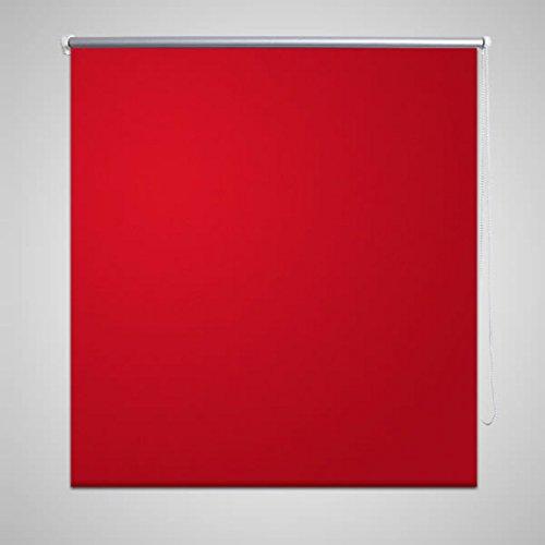 mewmewcat Estor Persiana Enrollable Rojo,Persiana Estor Opaco Enrollable Ideal para Dormitorio Aislamiento Térmico 80 x 230 cm