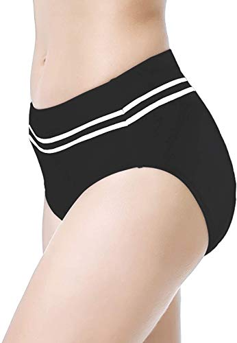 Beroy Women Quick Dry Cycling Underwear with 3D Padded,Gel Bike Underwear and Bike Shorts(XL Black)