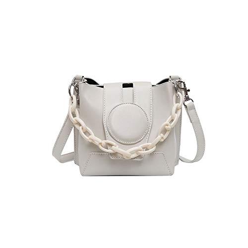 Handtasche damen,handtasche Retro neue modische Art und Weise Kette Umhängetasche Einfache Messenger-Wannen-Beutel Versatile Schulter Messenger Bag Fashion Umhängetasche Texture Small Square Bag handt