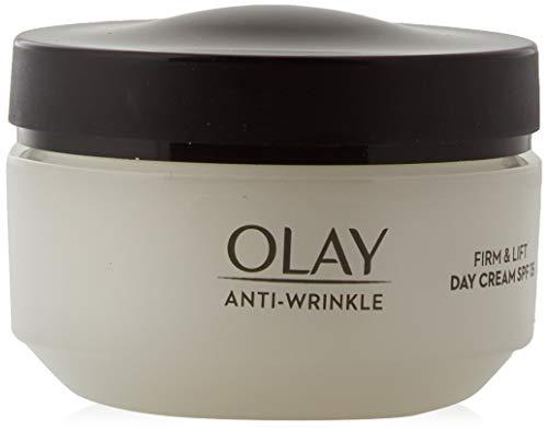 Olay Anti-Edad Crema facial de día hidratante anti-edad SPF 15 Firmeza & Efecto...