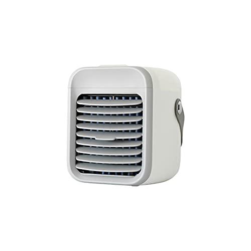 AIYIYOO Condizionatore D'aria Portatile 300 ML Serbatoio Dell'acqua Batteria Ricaricabile Mute Condizionatore D'aria Ventilatore per Dormitorio