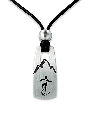 C2 Sportschmuck Halskette Einrad Downhill ML