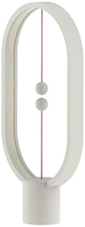 FWCJBS Nachtlicht Nachtbeleuchtung intelligente magnetische Lampe magnetische Balance Lampe Tischlampe Hause kreative weie Nachtlicht USB-Schnittstelle 405 × 220 mm