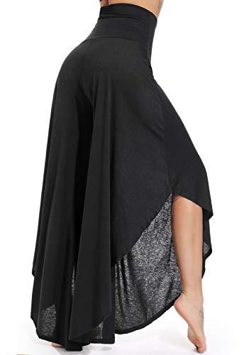 FITTOO Pantalones Profesionales De Yoga Sueltos Cintura Alta Mujer Pantalones Largos Deportivos Suaves y Cómodos 740750760