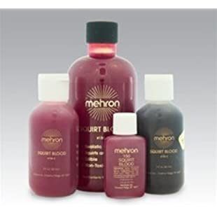 Squirt Blood 9oz- Bright Arterial by Mehron