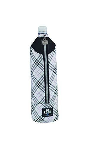 BE CooL Designkühltaschen T-478 Flaschenkühler, Karo-Design, 1,5 L