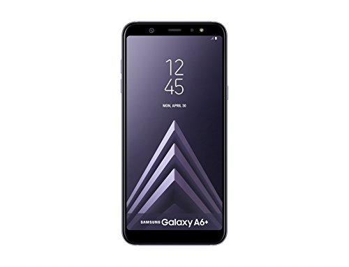 """Samsung Galaxy A6 Plus - Smartphone libre Android 8,0 ( 6"""" FHD+), Dual SIM, Cámara Trasera 16MP + 5MP Flash (3 nivles) y Frontal 24MP + Flash, Violeta, 32 GB 6"""" - Versión española"""
