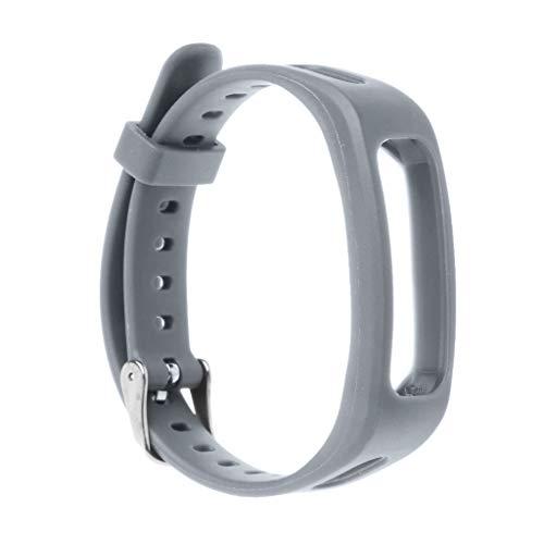 Team99 Correa de reloj, correa de muñeca, correa de reloj de TPU ajustable, pulsera deportiva de repuesto compatible con Huawei 3E / Honor Band 4 versión Running