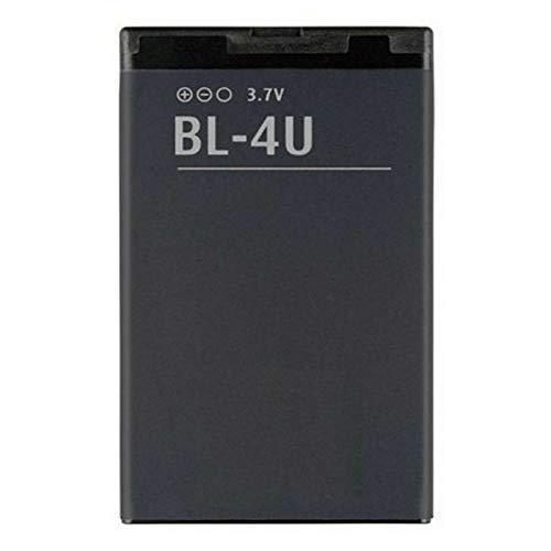 Ellenne Batteria Compatibile con Nokia BL4U BL 4U BL-4U 3120 5530 8800 E66 E75 Alta capacità 1000MAH
