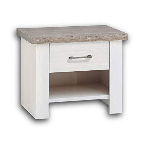 Bois Sonoma Stella Trading Pepe Table de Chevet 28 x 39 x 41 cm
