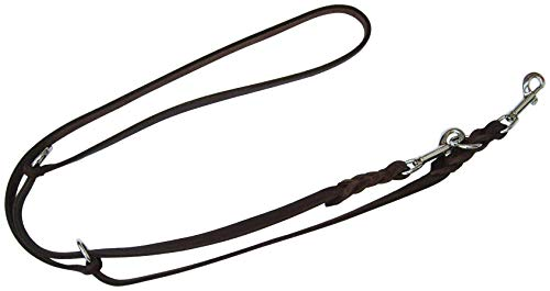 CARL HEIM Hundeleine »Soft«, braun, Länge: 220 cm