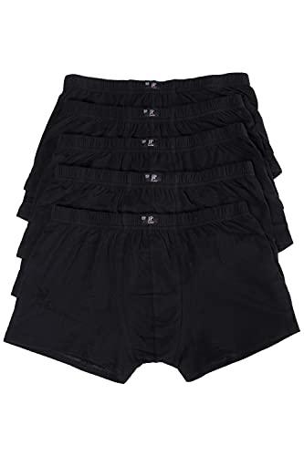 JP 1880 Herren große Größen L-8XL bis 16, Pants 5er Pack Unterhosen, Boxer-Shorts, Hipster Slips, Schlüpfer Elastikbund, schwarz, dunkelblau schwarz 12 711245 10-12