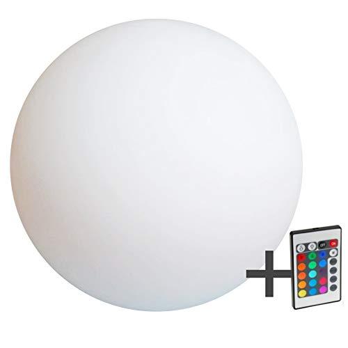 Boule LED, Sphère, lumineuse, 40 cm, rGB, rechargeable, flottant
