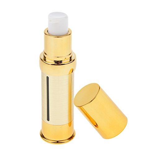 Harilla Botella Sin Aire Portátil Tratamiento Cosmético Bomba de Aceite Esencial Viaje Vacío - 15 ml