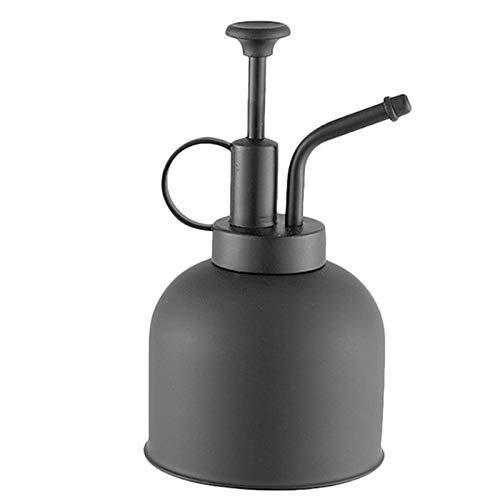 ZQO Regadera Botella de pulverización de Niebla Fina Regadera de Planta de Acero Inoxidable con Bomba Superior Rociador de Agua Jardín Interior