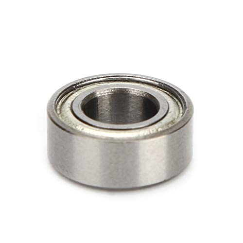 Lager, 10PCS MR105ZZ Miniaturlager Kugellager aus Kohlenstoffstahl 5x10x4mm, mit doppeltem Abschirmeffekt, für 3D-Drucker, Elektromotor
