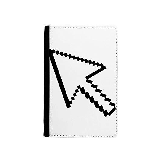 beatChong Computer-Maus Pfeil Pixel-Pass-Halter Travel Wallet Abdeckungs-Fall Karten-Geldbeutel