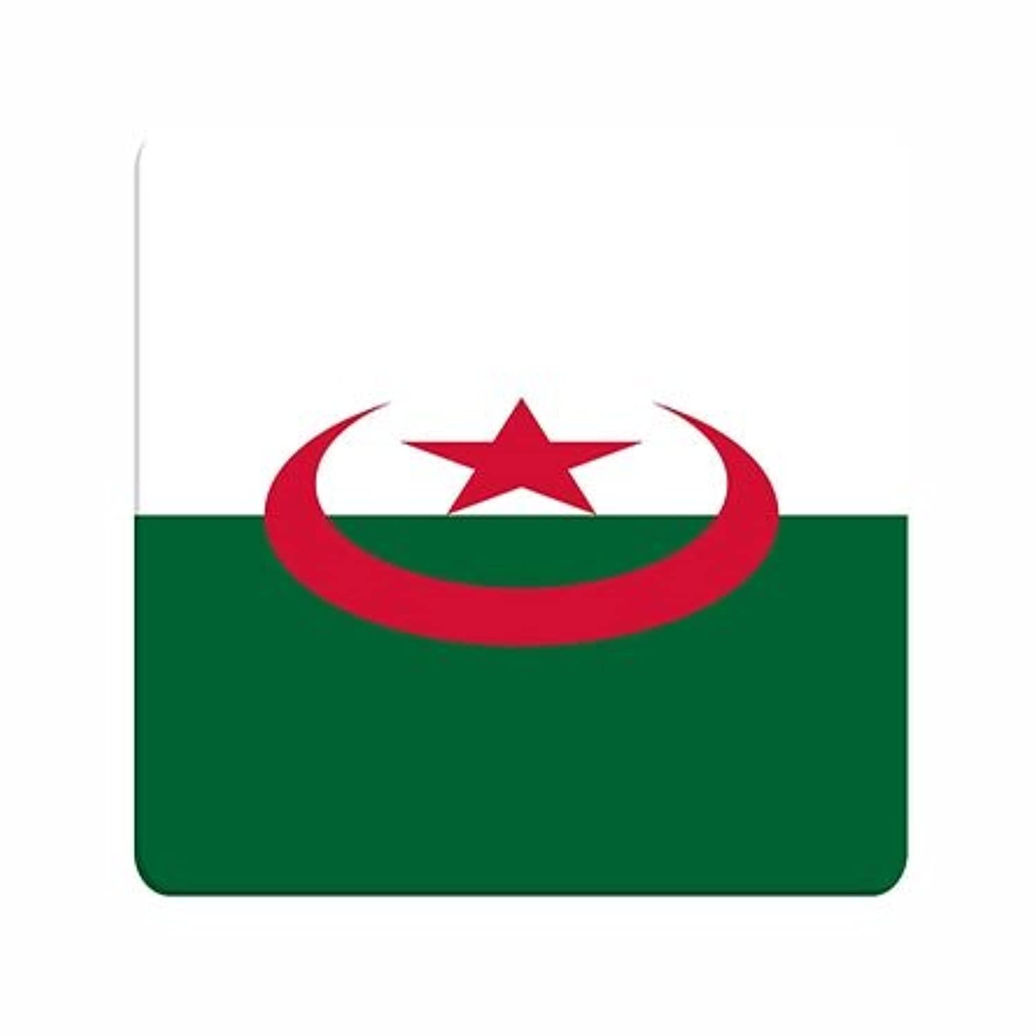 Fun Thin Material Mouse Pad National Flag Algeria/Algerian Personalised Creative For Boys