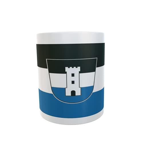 U24 Tasse Kaffeebecher Mug Cup Flagge Neu-Ulm