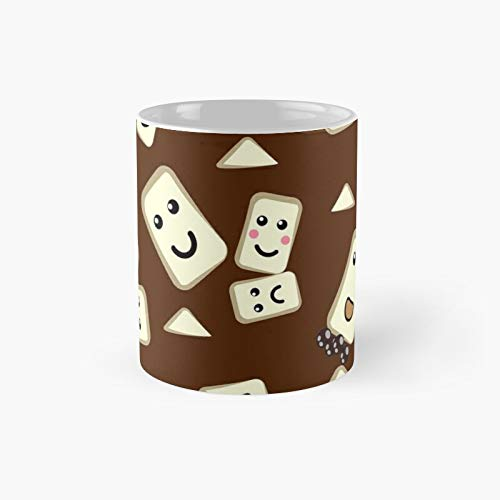 Taza de café con texto 'Hot Chocolate With Marshmallows' | Best Gift Funny Coffee Mugs 350 ml