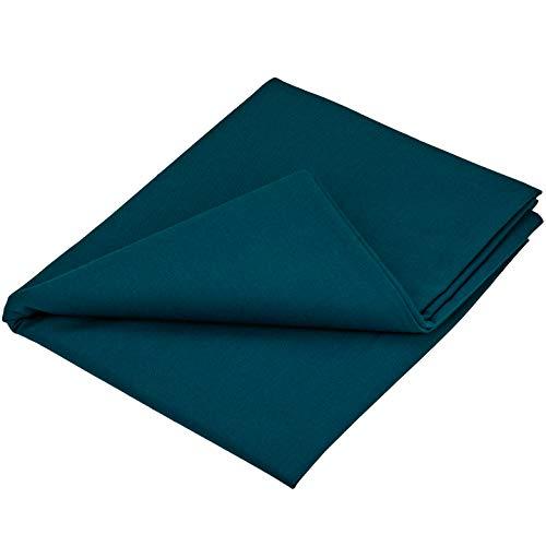 Faden & Nadel 1 m Baumwollstoff in dunkelblau, 100{f25e6f540e41d6365ad4727956a1e0309b8d1dda62b122332b687a68cefeeafc} Baumwolle, 120 cm breit