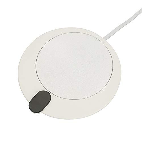 Coffee Mug Warmer 5V Cup Warmer Smart Thermostatic Cup Heater Tea Maker USB 3 Gear Warmer Pad Insulation Mug Coaster Tea Milk Coffe with Timing Best Gift