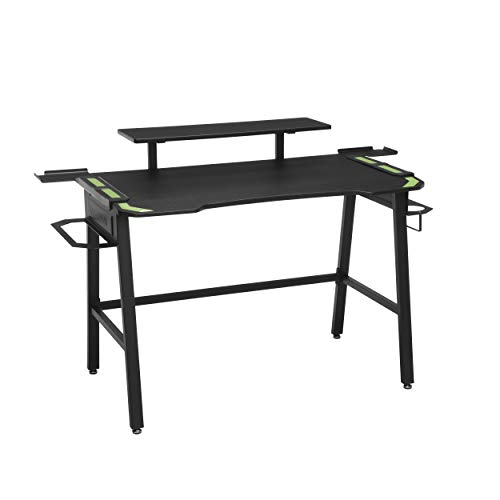 Product Image of the RESPAWN 1010 Gaming Computer Desk, in Green (RSP-1010-GRN), 23.625' D x 52.625'...