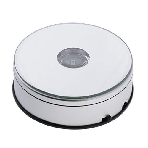 Präsentationsplatte Drehteller zur Präsentation 20,3cm mit verspiegelter P .