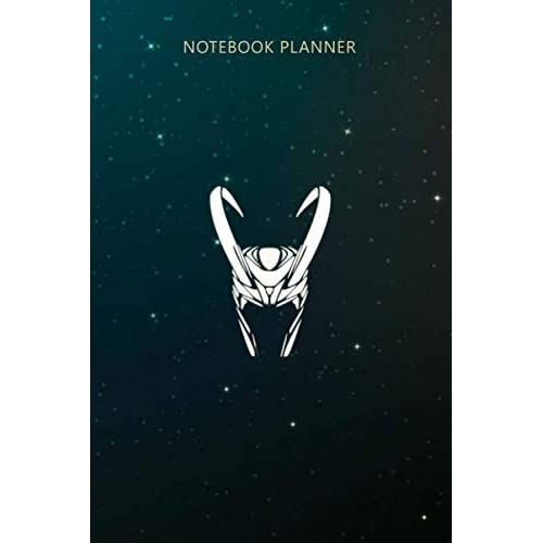 Notebook Planner God of Mischief Loki: Planning, Lesson, Tax, Financial, Over 100 Pages, Business, To Do List, 6x9 inch