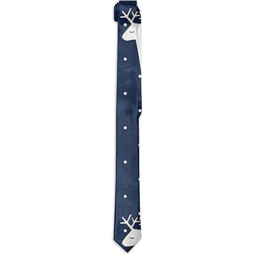 Corbata de la impresión de lujo de la corbata de los hombres de Milu Deer