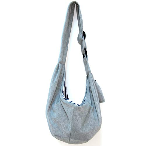 vitazoo Hundetragetasche, Tragebeutel für Hunde und Katzen, Haustier-Tragetasche, wendbar, reversibel, Transporttasche, Schultertasche, Sling Bag