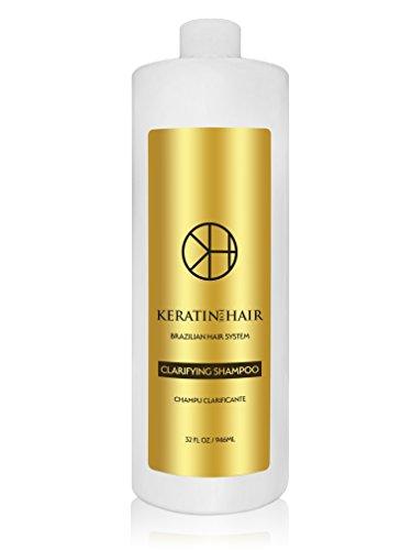 Keratin For Hair Anti-Residue Clarifying Deep Cleaning Shampoo (Clarifying, 32 fl oz)