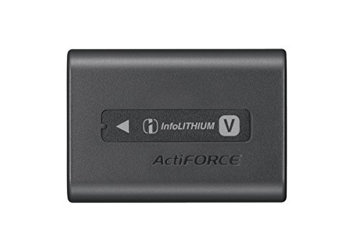 Sony NPFV50A V-Series Rechargeable Battery Pack Digital Camera Battery, Gray