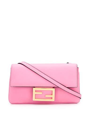 Luxury Fashion | Fendi Dames 8BS040A5DYF082F Roze Leer Schoudertassen | Lente-zomer 20