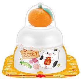 サトウの福餅入り鏡餅 小飾り 干支橙付き66g