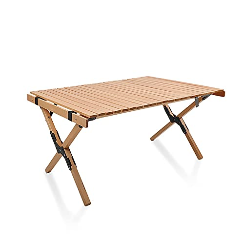 Opklapbare tafels, houten opklapbare tafel, picknicktuin Patio BBQ-feesttafel, voor buitenkeuken tuinfeestjes, ondersteuning max. 300 kg, A