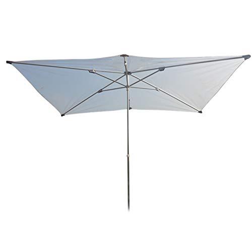 HH- Sombrillas Paraguas Transparente para Pesca de Café en El Jardín Al Aire Libre, Sombrilla Cuadrada de 2 × 2 M con 8 Varillas Resistentes, Impermeable, A Prueba de Lluvia Y Parasol