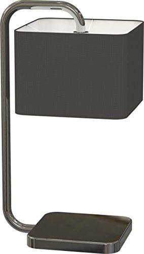 Miro Ranex Designer Tischleuchte, hochwertiger Stoffbezug 6000.477